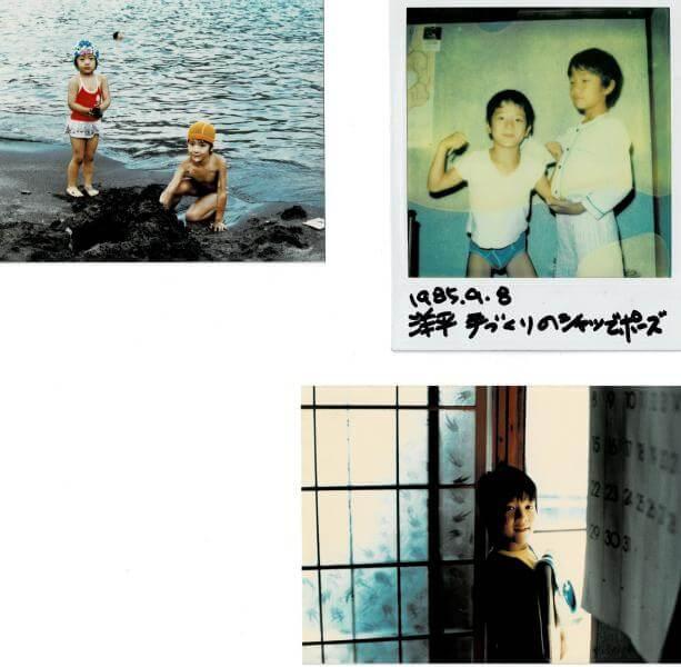 Image of childhood of yohei yasutake