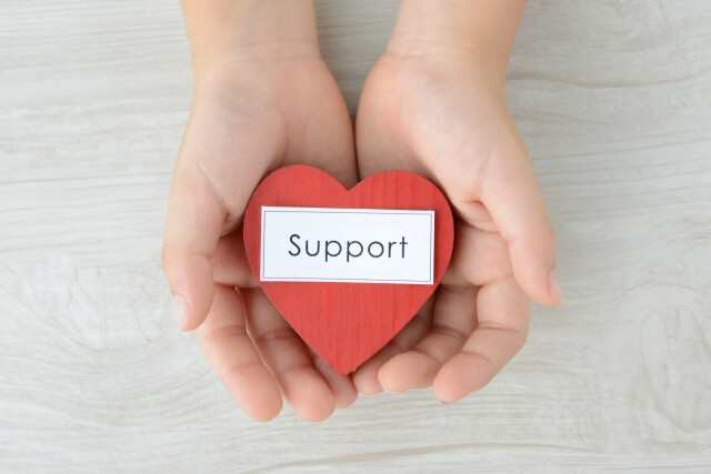 image of thoughtful support